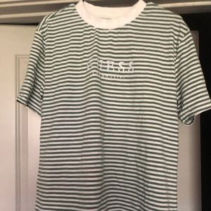 Men's striped Guess T shirt